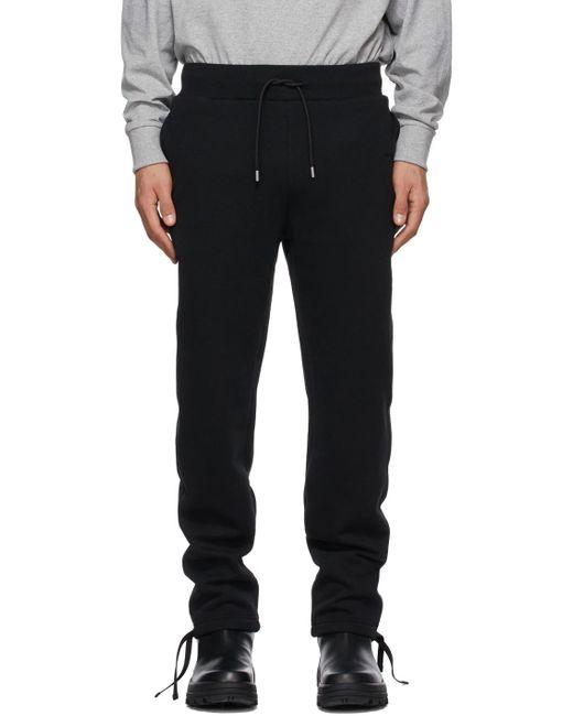 メンズ 1017 ALYX 9SM ブラック Visual ラウンジ パンツ Black