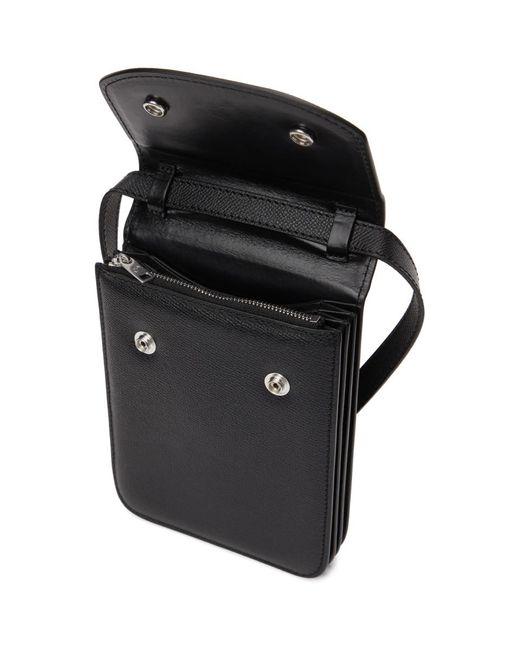 メンズ Maison Margiela ブラック スモール チェスト バッグ Black