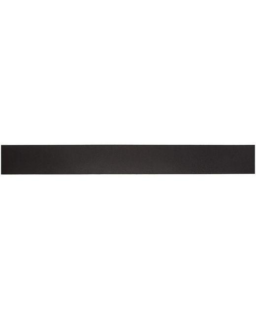 メンズ Saint Laurent ブラック ベジタブル Browny ベルト Black