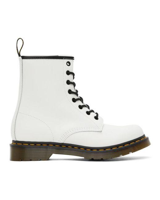 Dr. Martens ホワイト 1460 ブーツ White