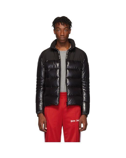 Moncler Black Down Bruel Jacket for men