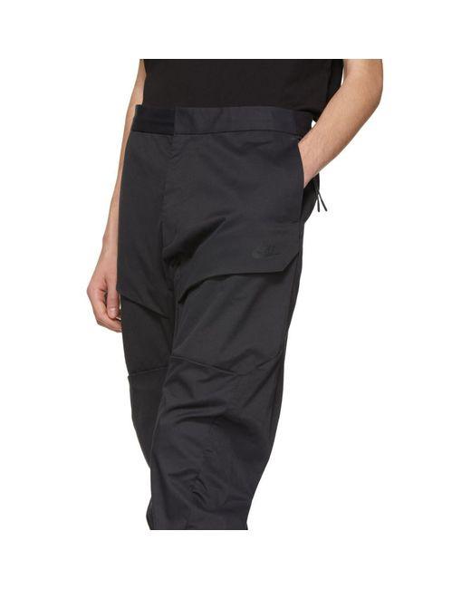 ... Nike - Black Pantalon cargo tisse noir Tech Pack for Men - Lyst ... 843830d9f45d