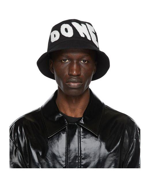 Chapeau a ecusson a logo brode noir we11done pour homme en coloris Black