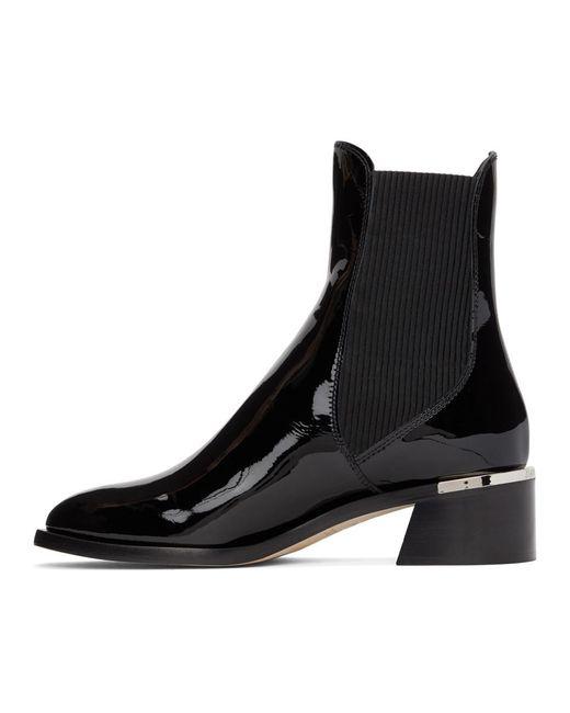 Jimmy Choo ブラック Rourke 45 ブーツ Black