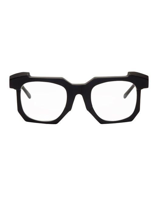 メンズ Kuboraum ブラック K2 Bm メガネ Black