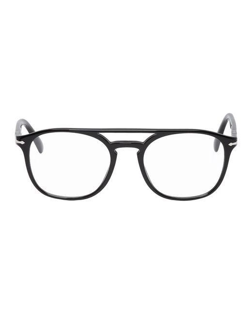 メンズ Persol ブラック Po3175v グラス Black