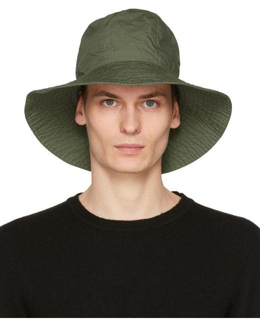 メンズ Engineered Garments カーキ Dome ハット Green