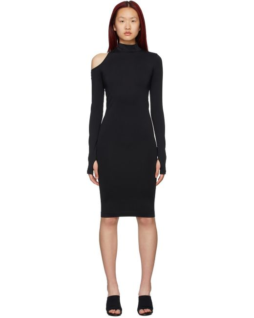 Helmut Lang ブラック Cut-out ドレス Black
