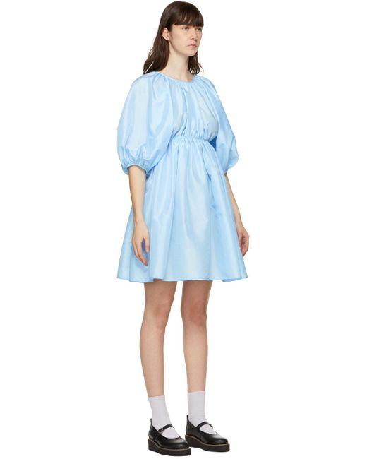 CECILIE BAHNSEN ブルー Ava ドレス Blue