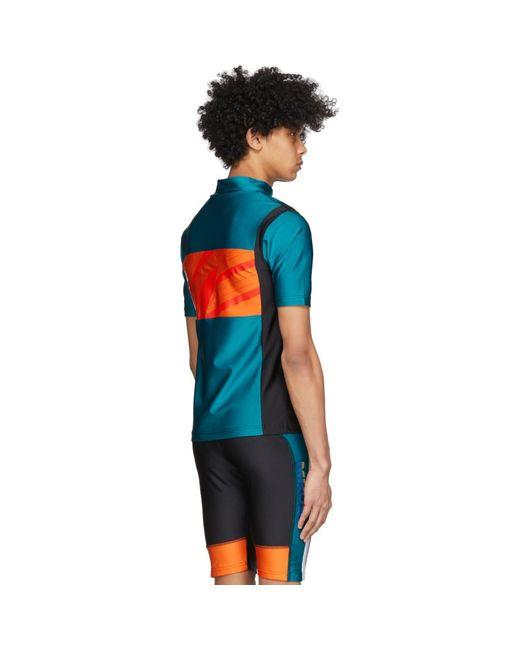 メンズ Martine Rose Ssense 限定 グリーン サイクリング T シャツ Multicolor