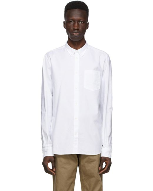 Norse Projects White Oxford Anton Shirt for men