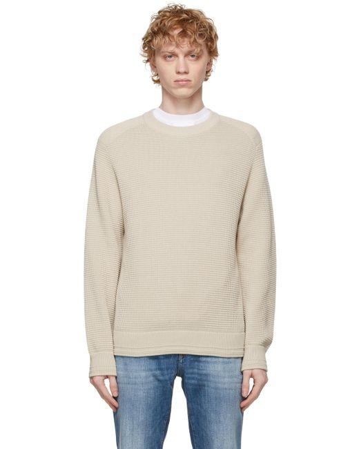 メンズ Z Zegna ホワイト セーター White