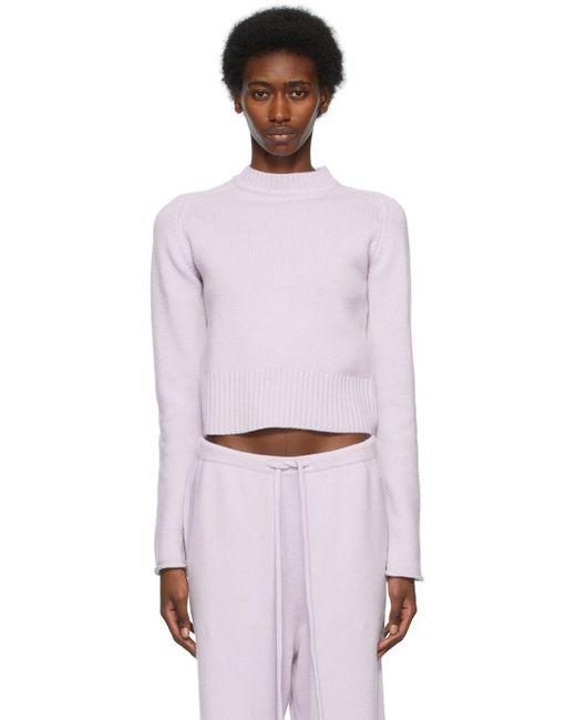 Extreme Cashmere パープル N°152 Cherie セーター Purple