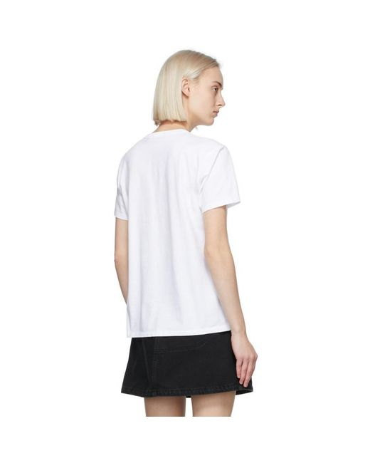 Maison Kitsuné ホワイト Fox Head T シャツ White