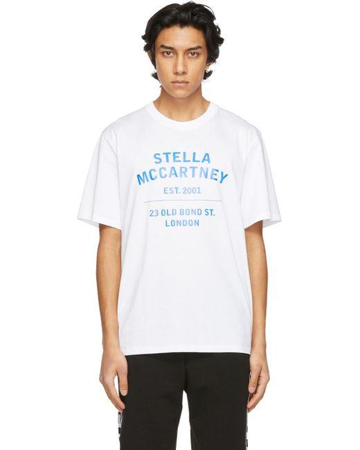 メンズ Stella McCartney Shared コレクション ホワイト 23 Obs T シャツ White