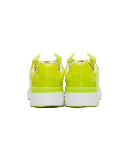メンズ Givenchy イエロー トランスルーセント Wing ロー スニーカー Yellow
