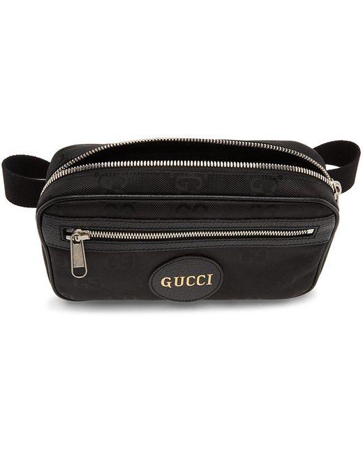 メンズ Gucci Off The Grid コレクション ブラック エコニール Eden ベルト バッグ Black