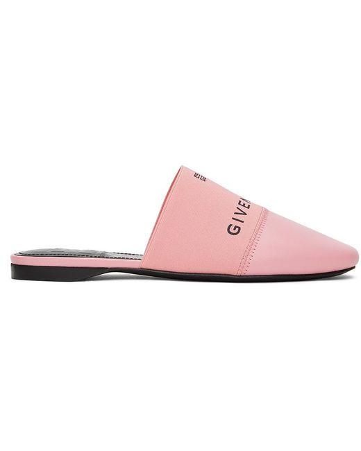 Givenchy ピンク フラット ミュール Pink