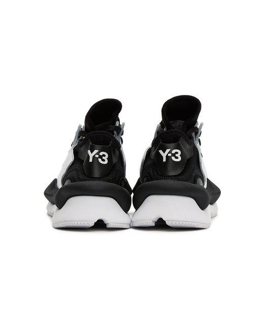 メンズ Y-3 ブラック And ホワイト Kaiwa スニーカー White