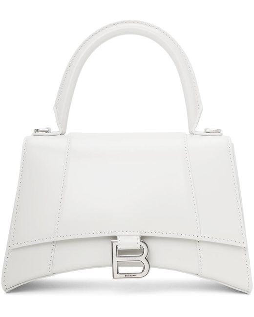 Balenciaga オフホワイト スモール Hourglass バッグ White