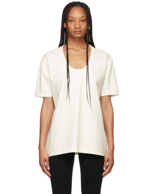 Totême  ホワイト Heavy オーバーサイズ T シャツ White