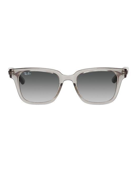 メンズ Ray-Ban グレー Rb4323 サングラス Gray