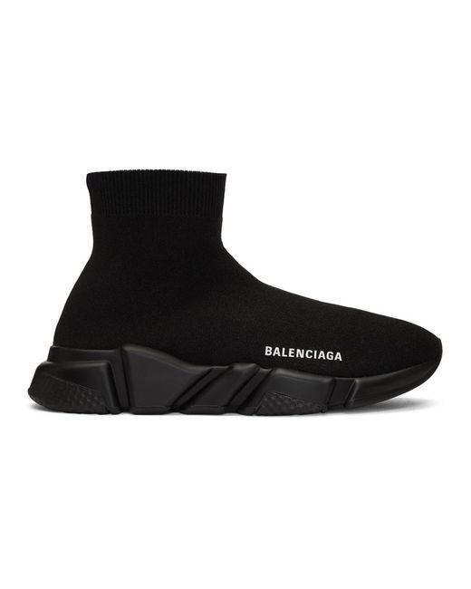 Balenciaga Black Speed Sneakers for men