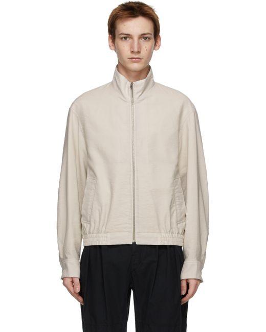 メンズ Lemaire グレー Glazed ジャケット Gray