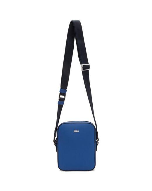 BOSS Blue Mini Signature Ns Bag for men