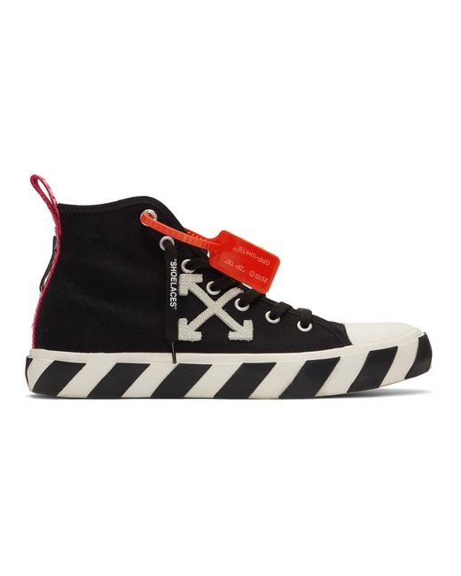 Off-White c/o Virgil Abloh Black And White Arrows Mid-top Sneakers for men