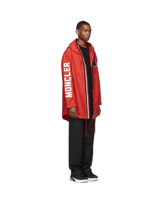 Moncler Red Granduc Jacket for men