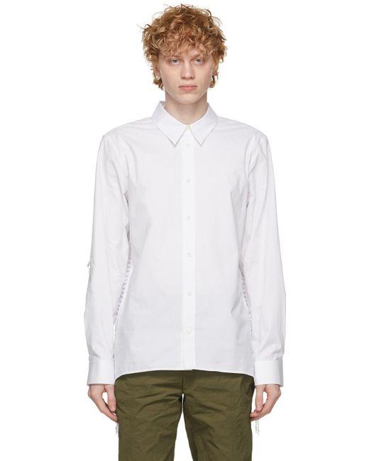 メンズ Helmut Lang ホワイト シャツ White