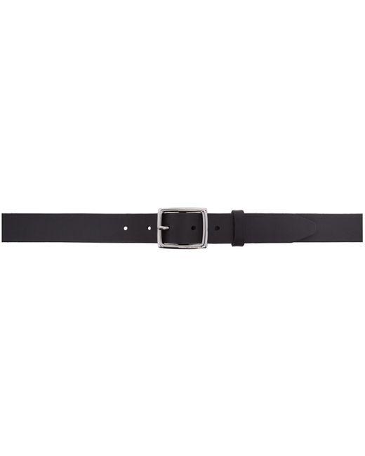Rag & Bone - Black Leather Boyfriend Belt - Lyst