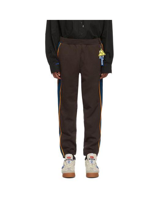 メンズ ADER ERROR Puma Edition ブラウン T7 ラウンジ パンツ Multicolor