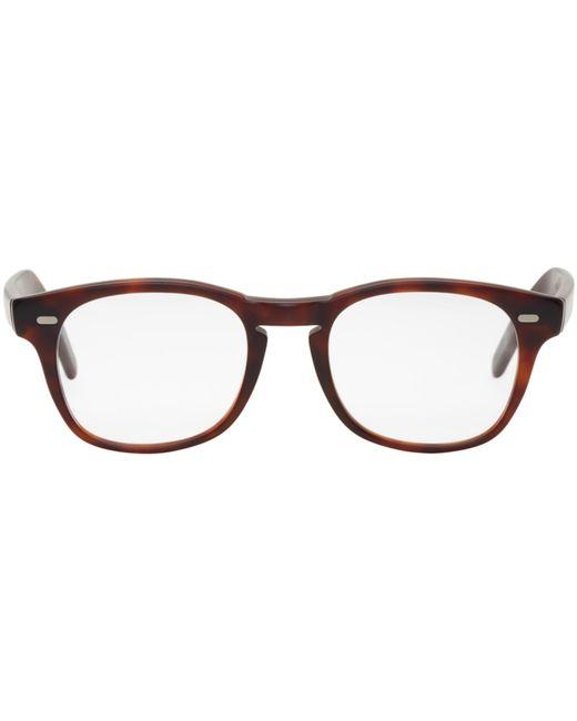 Cutler & Gross | Brown Tortoiseshell 1046 Glasses for Men | Lyst