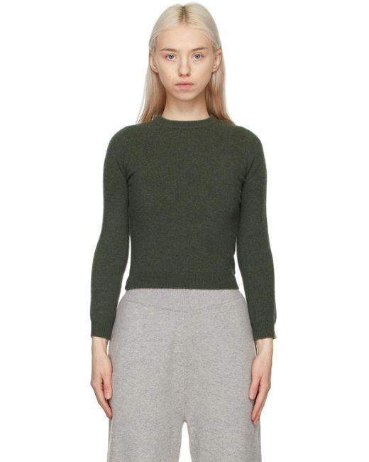 Extreme Cashmere カーキ N°98 Kid セーター Green