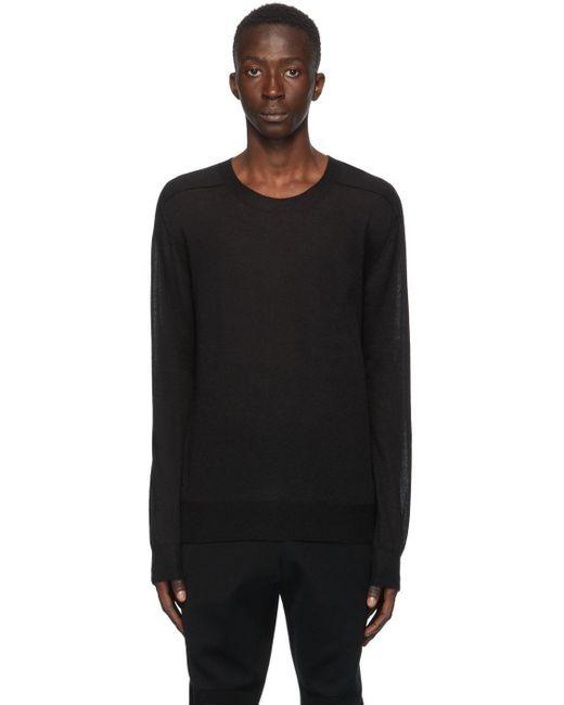 メンズ Bottega Veneta ブラック カシミア セーター Black