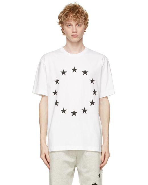 メンズ Etudes Studio ホワイト Wonder Europa T シャツ White