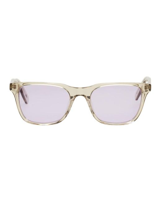 all in - Ssense Exclusive Grey And Purple York Sunglasses for Men - Lyst