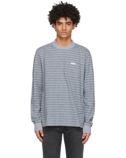 メンズ Noah NYC グレー & グリーン スウェットシャツ Gray