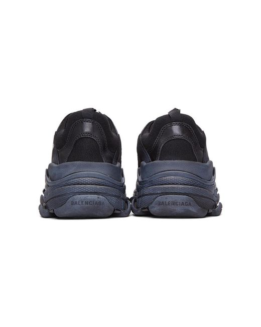 24a90fe4677a9 ... Balenciaga - Black Triple S Sneakers for Men - Lyst ...