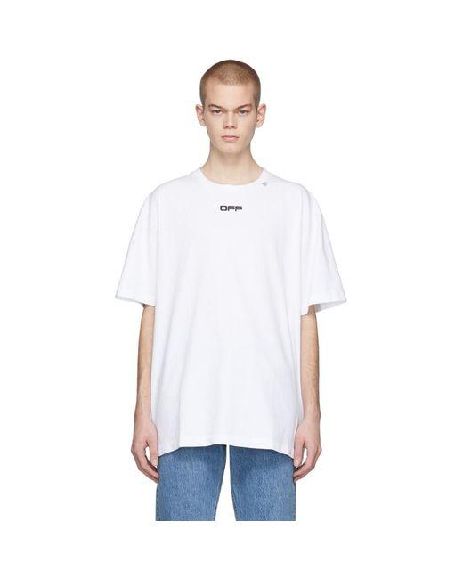 メンズ Off-White c/o Virgil Abloh ホワイト Wavy Line ロゴ T シャツ White