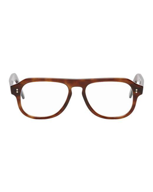 メンズ Cutler & Gross ブラウン 0822/2 メガネ Brown