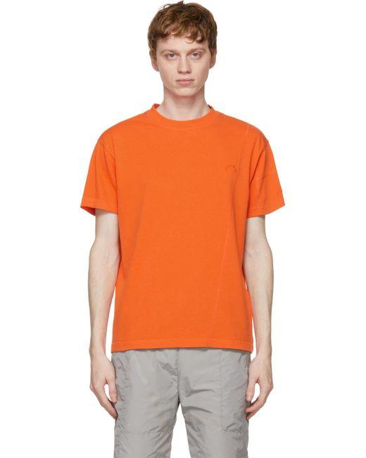 メンズ A_COLD_WALL* * オレンジ Essential T シャツ Orange