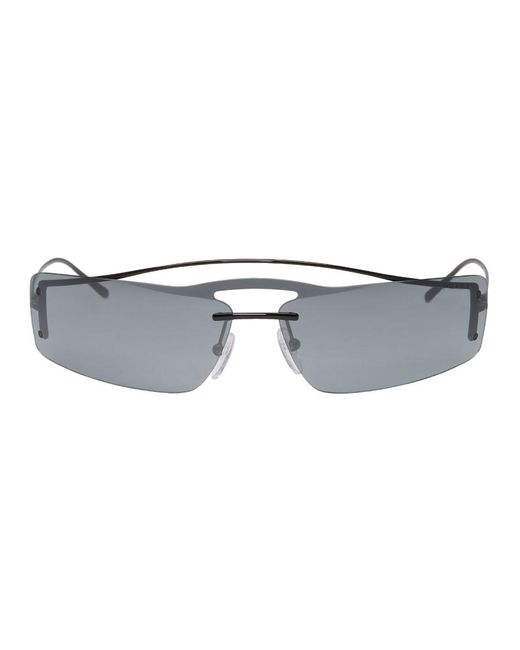 Prada - Multicolor Black And Grey Futuristic Sunglasses - Lyst