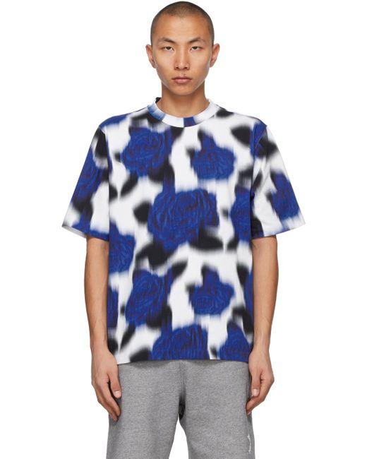メンズ KENZO ブルー & ブラック T シャツ Blue
