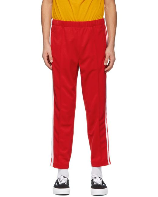メンズ Lacoste Ricky Regal エディション レッド パンツ Red