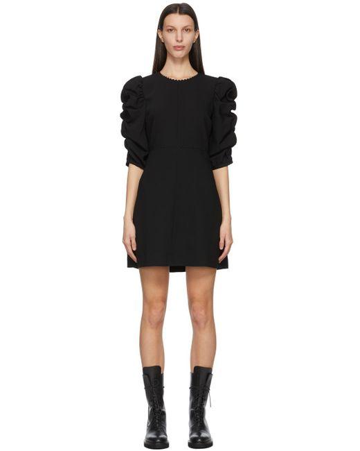 See By Chloé ブラック ドレス Black