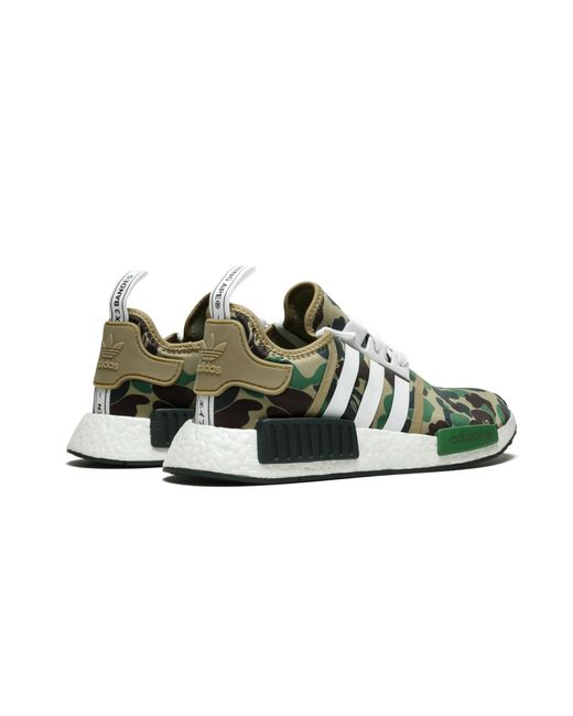 various colors 7c046 61072 adidas Nmd R1 Bape in Green for Men - Lyst