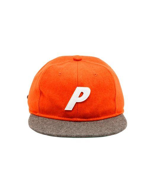 Palace Orange Wool Stadium Hat for men
